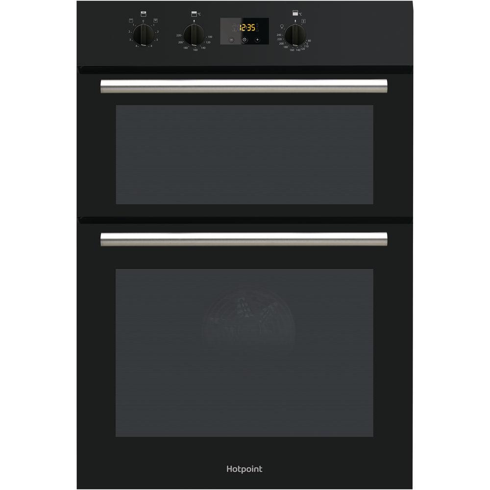 medium resolution of hotpoint class 2 dd2 540 bl built in oven black