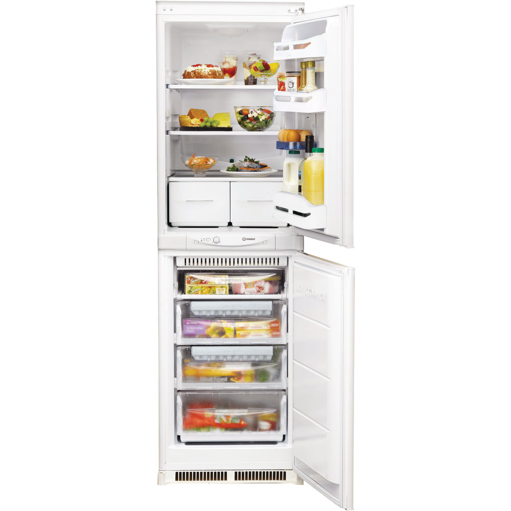 hight resolution of indesit in c 325 ff 1 integrated fridge freezer in white