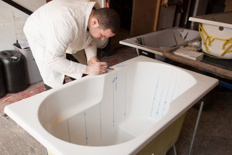 Bespoke Islay japanese style tub with whirlpool