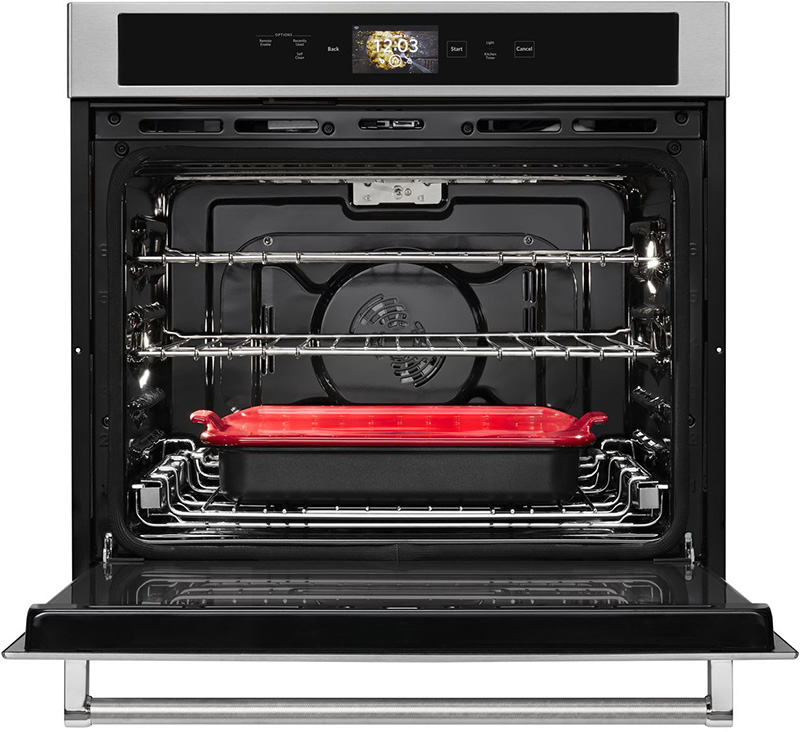 kitchen aid ovens renovations cost kitchenaid enters the smart home category with oven featuring powered attachments