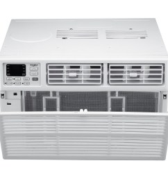 energy star 12 000 btu 115v window mounted air conditioner with remote control whaw121bw [ 1000 x 1000 Pixel ]