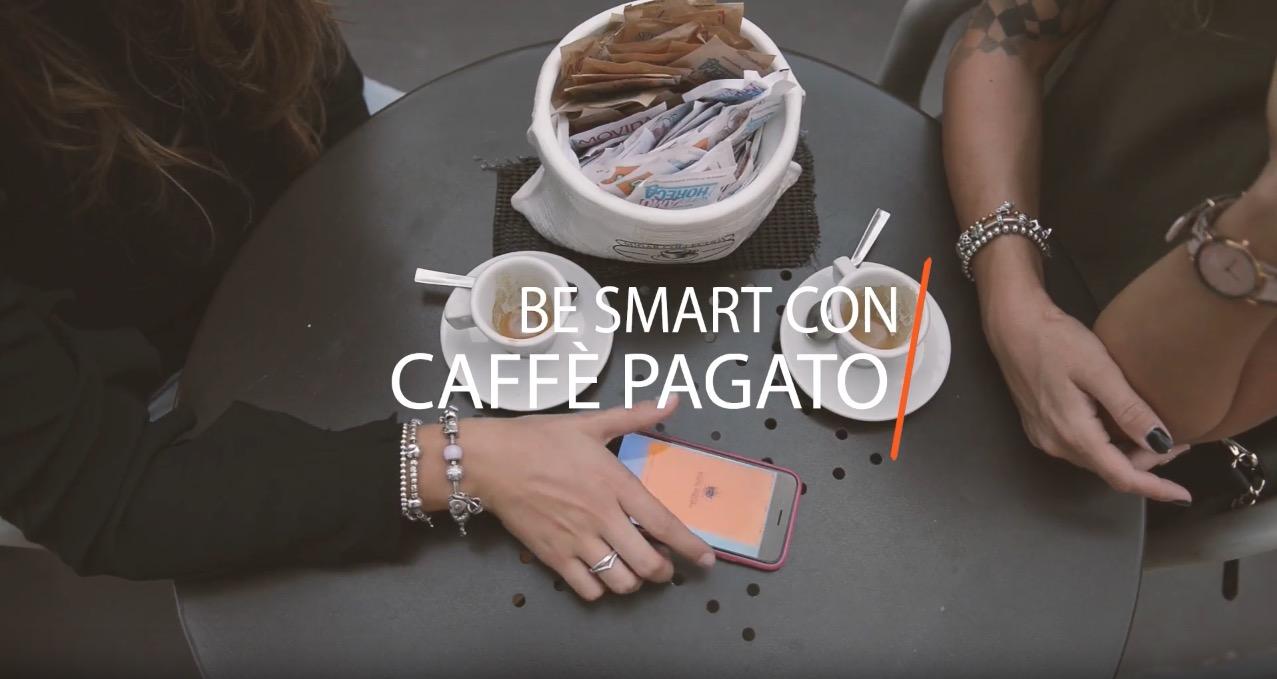 """""""Caffè Pagato""""_video spot"""