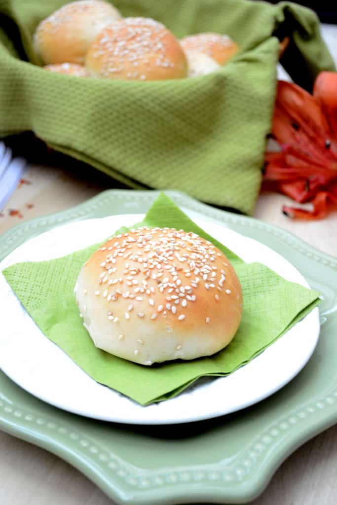 Chicken Stuffed Buns