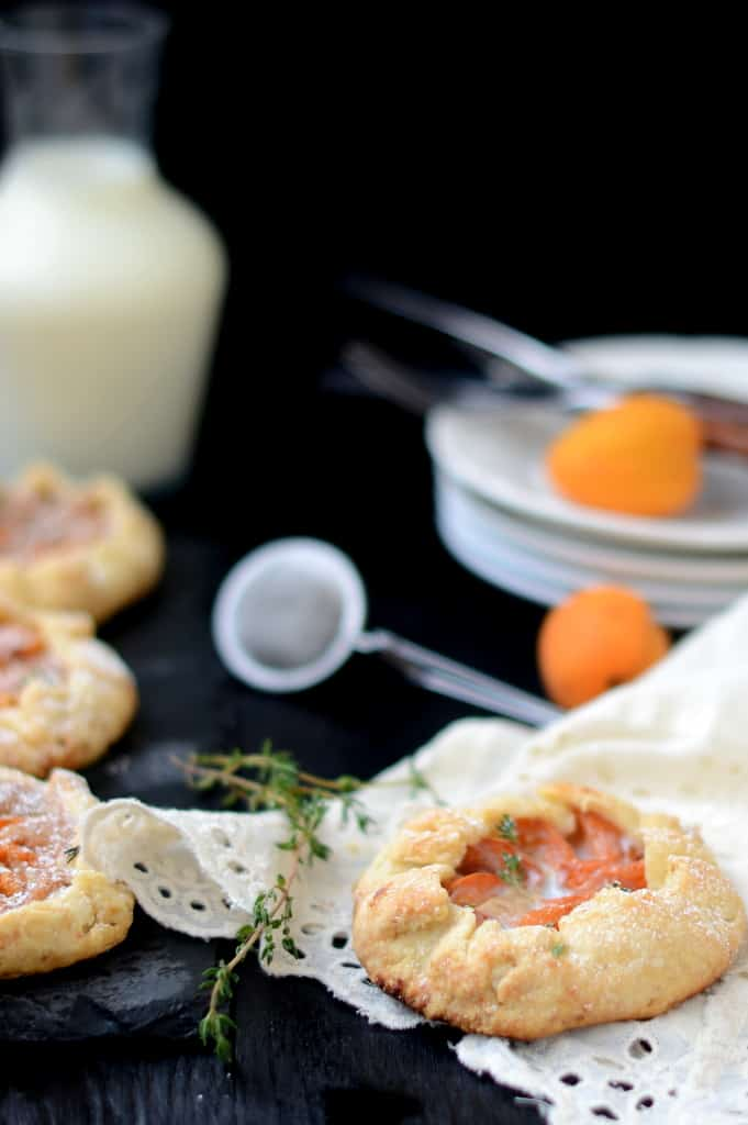 Apricot Frangipane Mini Galette Recipe