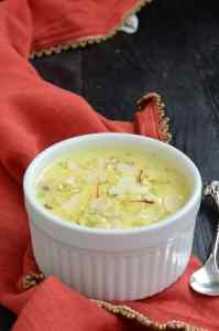 Sabudane Ki Kheer is the commonest type of sweet dish, enjoyed during the fasting period, as well during celebrations and festivals.