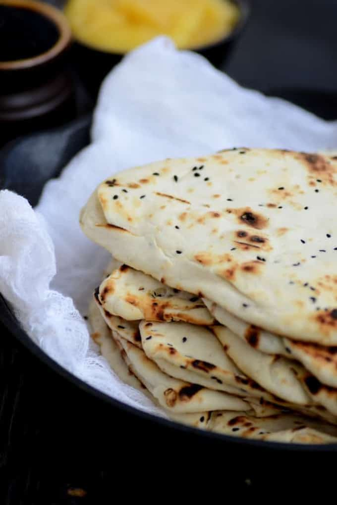how to make soft naan at home