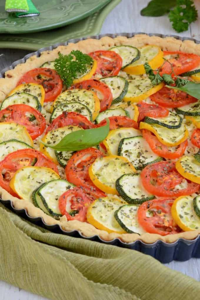 Tomato Zucchini Tart, How to make Tomato Zucchini Tart