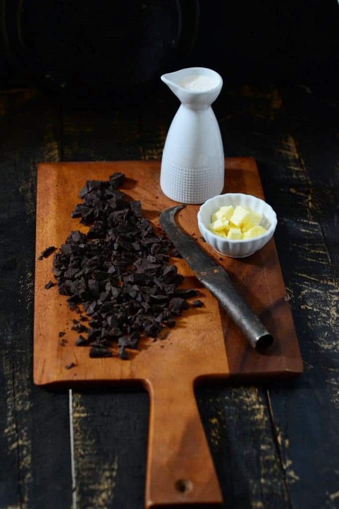 Homemade Chocolate Ganache