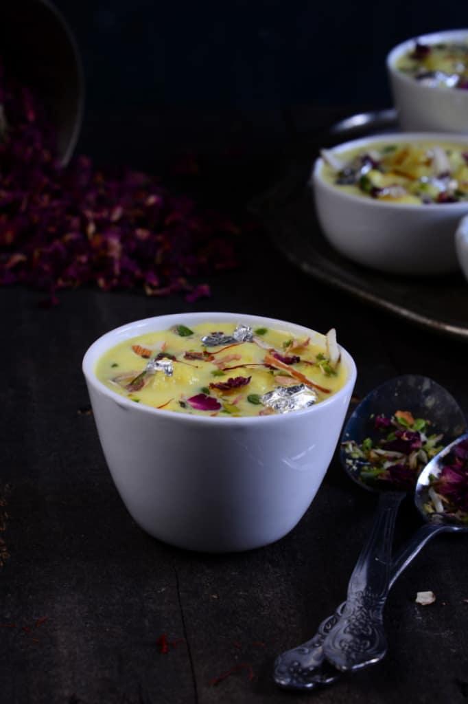 how to make soft rasmalai at home