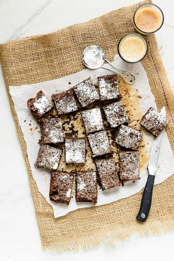 Espresso Oats Brownies Recipe, How to make Espresso Oats Brownies