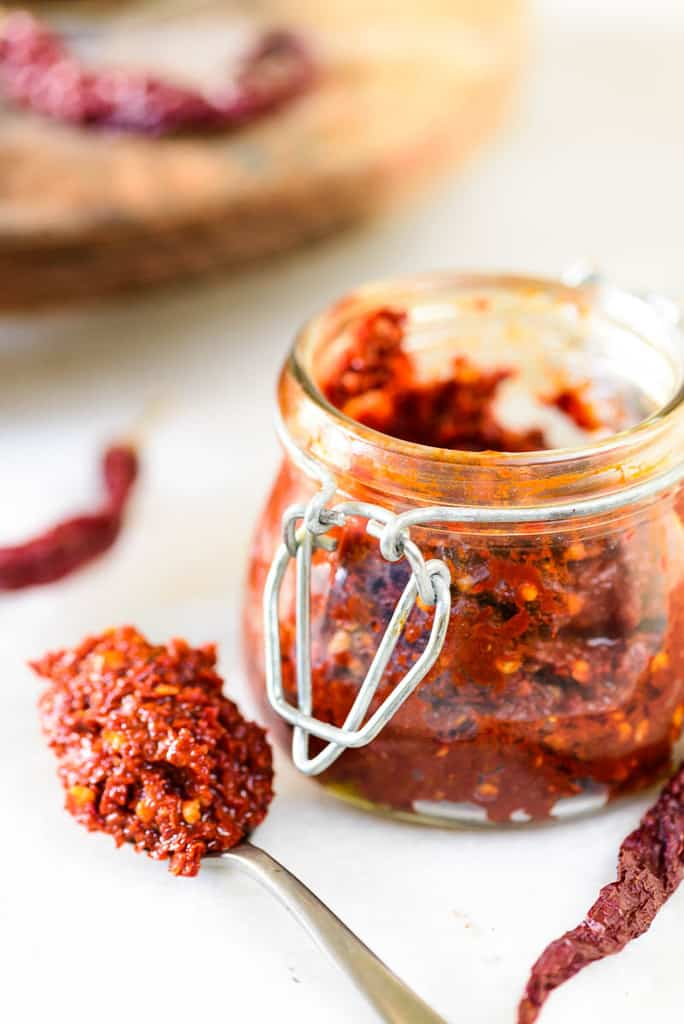 How To Make Red Chili Paste at home | Best Red Chili Paste Recipe – Video recipe