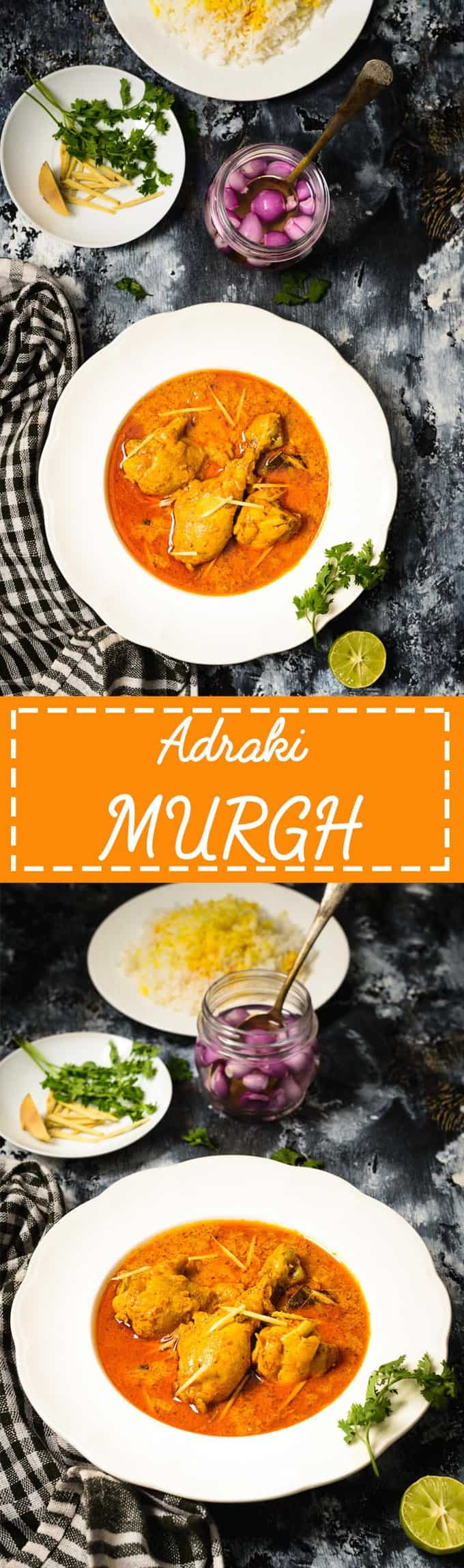 Adraki Murgh