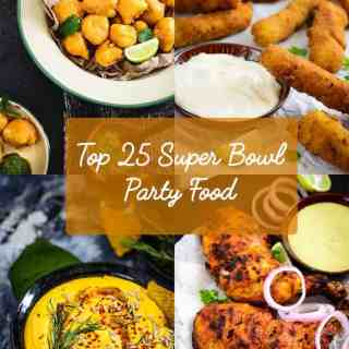 Top 25 Super Bowl Party Food. Here is a collection of easy to make Party Finger food which will be a hit at your Super Bowl Party.