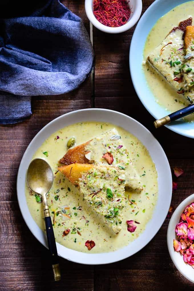 Thandai Shahi Tukra Recipe, How to make Thandai Shahi Tukra