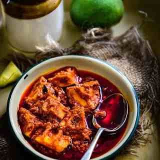 Allam Avakaya is a Andhra style Spicy Mango Pickle which has ginger in it apart from the other regular spices. Here is a traditional recipe to make it.
