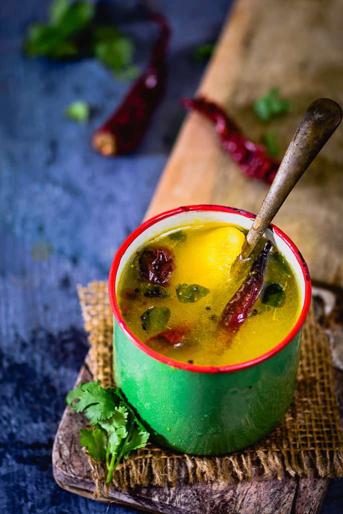 With mangoes aplenty around me, making Raw Mango Rasam turned out to be not only interesting but also soul refreshing. Savour it soon!