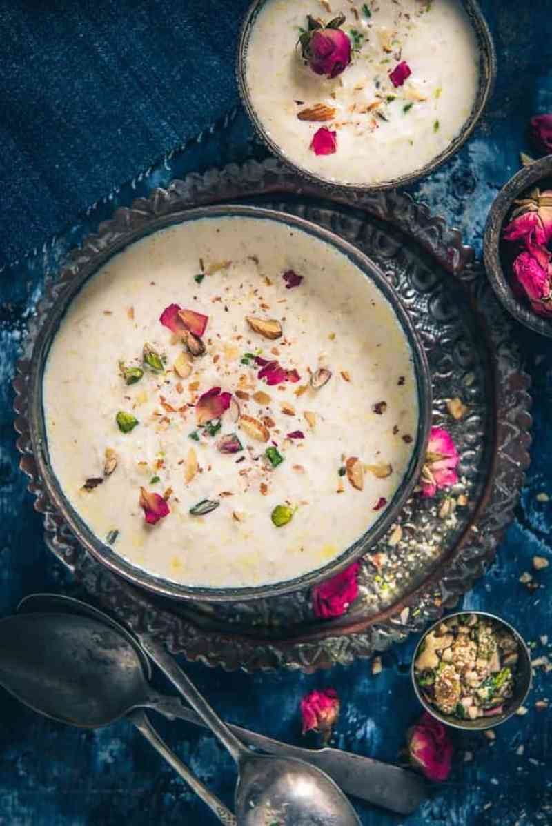 Poila Baisakh is the traditional New Year day of Bengali people and the festival is celebrated with processions, fairs, family time, and food! Bengali Chaler Payesh is a rice-based pudding made on several occasions of Bong community such as baby showers, birthdays, house-warming ceremonies et al.