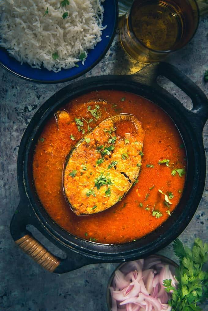 Tomato Fish Curry Recipe I Fish Curry With Tomato I Fish Curry Recipe – Video Recipe