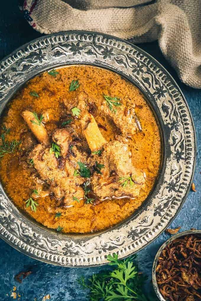 Mughlai Mutton Stew Recipe, How to make Mughlai Mutton Stew
