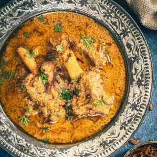 Mughlai Mutton Stew is a royal, delicious assemblage of majestic flavours brewed with mutton and spices. Its warmth spreads through the body as an elixir.