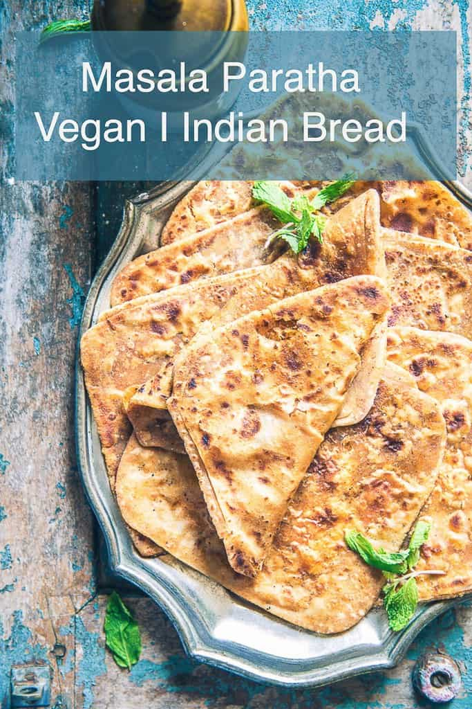 Masala Paratha as the name says, is a finely made from whole wheat flour flatbread gently mixed with various spices, ghee and loads of love.