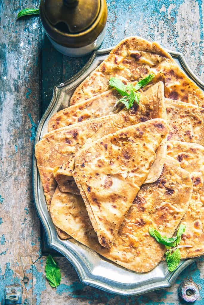 Masala Paratha Recipe, How to make Masala Paratha