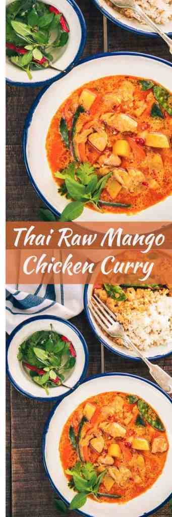 All the fans of mangoes and non-vegetarian dishes, Thai Raw Mango Chicken Curry is a must try for you all. Now, go ahead and pen down the easy recipe!
