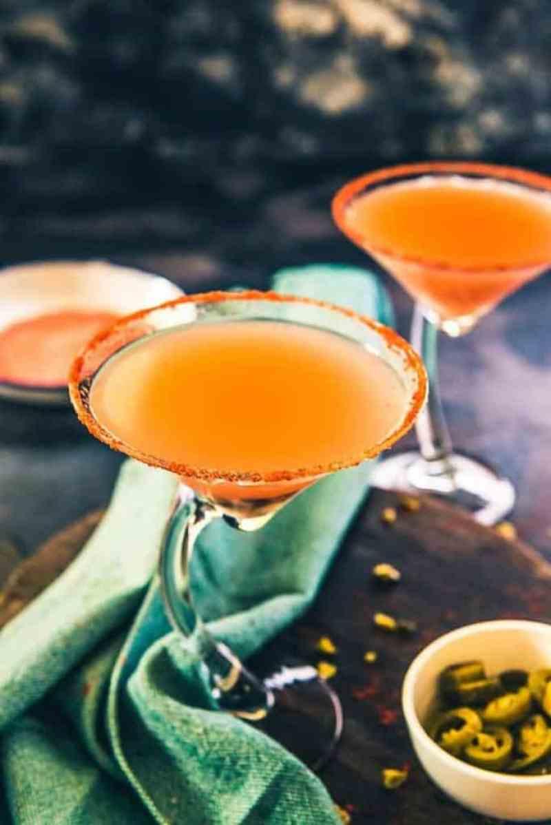 Virgin Jalapeno Guava Margarita, Guava Mocktail recipe, summer cooler recipe, summer drink recipe, Guava recipe, Party drink recipe