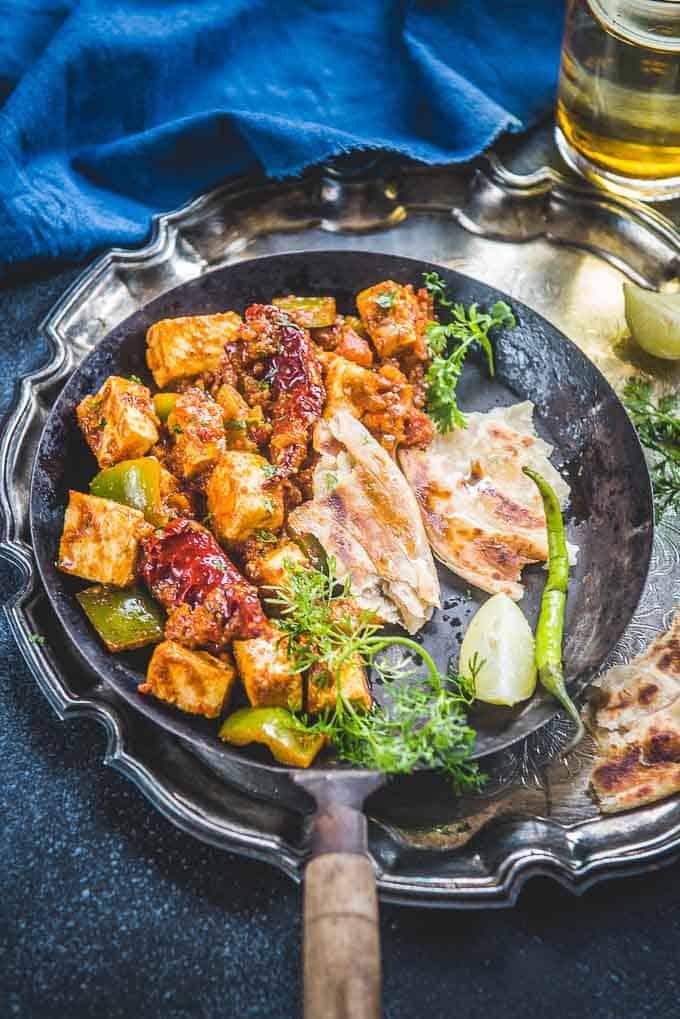 Restaurant Style Kadai Paneer Recipe
