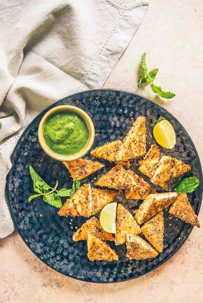 Sesame Grilled Paneer – A perfectly healthy party snack