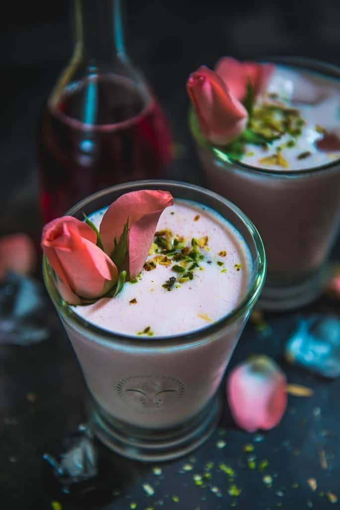 Rose Lassi Recipe I How to make Rose Lassi I Lassi Recipe