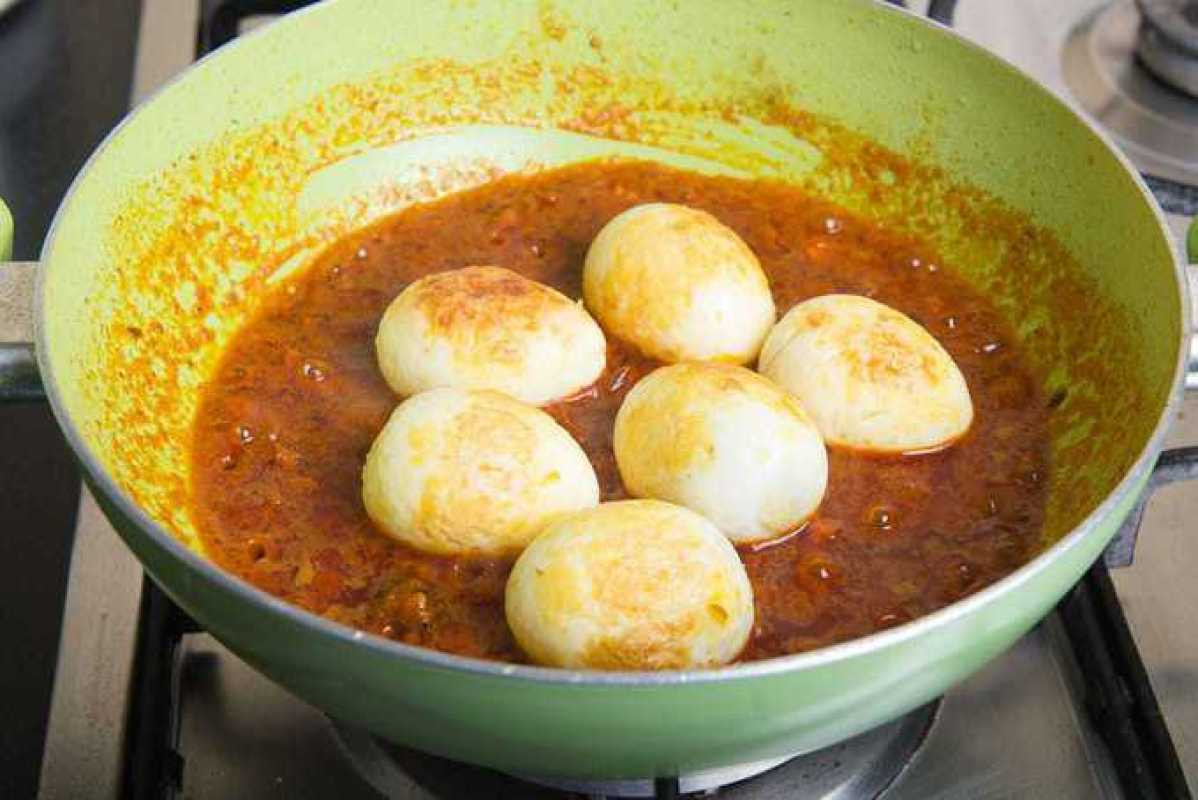 Egg Curry Masala, Egg Masala Curry, Anda Curry, egg masala sanjeev kapoor, how to make egg curry at home,