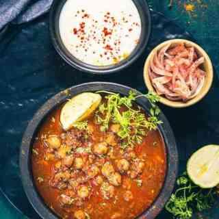 Amritsari Chole Recipe