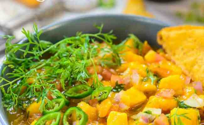 Best Homemade Mango Salsa Recipe Step By Step Whiskaffair