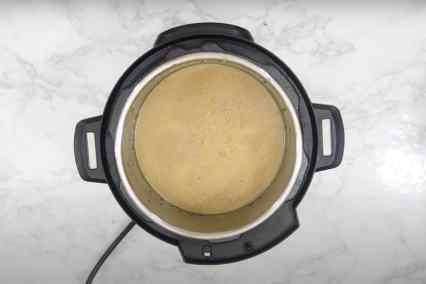 Soup blend until smooth.
