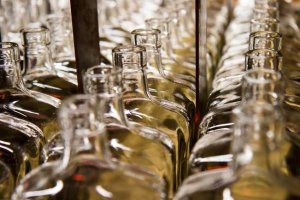 Whiskey bourbon bottles - Whiskey Bear Bar Lexington, Kentucky