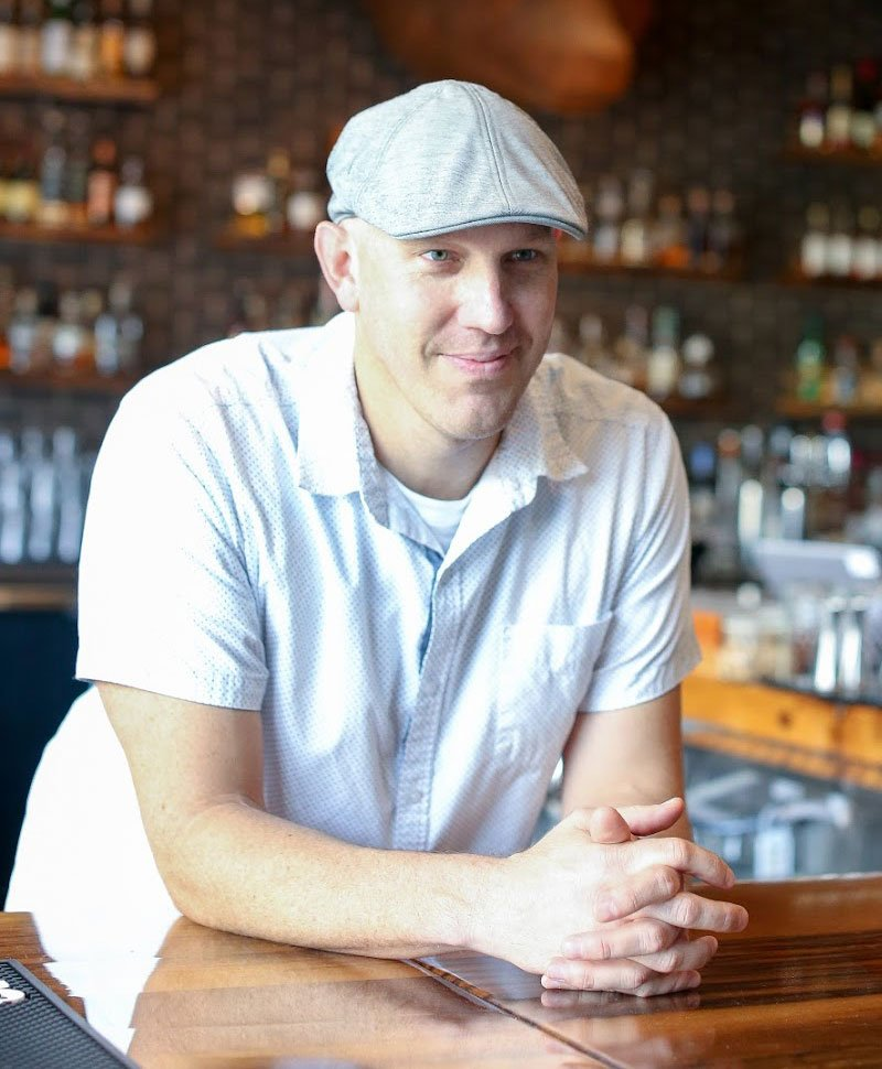 Daniel Marlowe, owner of Whiskey Bear - Lexington, Kentucky bar