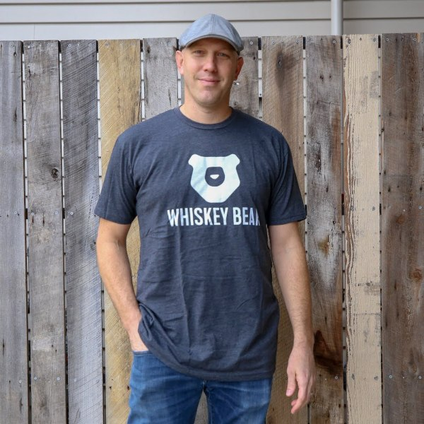 Whiskey Bear - Apparal - Mens - SS Tee - Charcoal