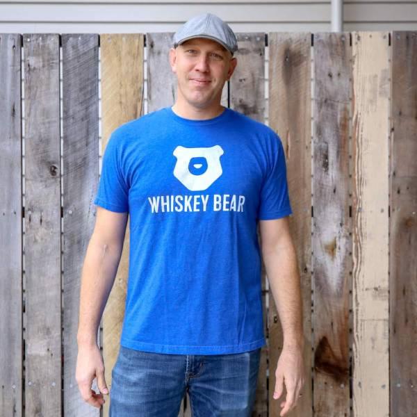 Whiskey Bear - Apparal - Mens - SS Tee - Royal