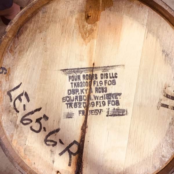 Whiskey Bear - Barrel Select - Four Roses 080118