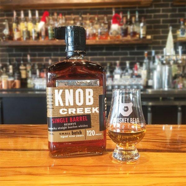 Whiskey Bear - Barrel Select - Knob Creek Single Barrel - Butterscotch Jack