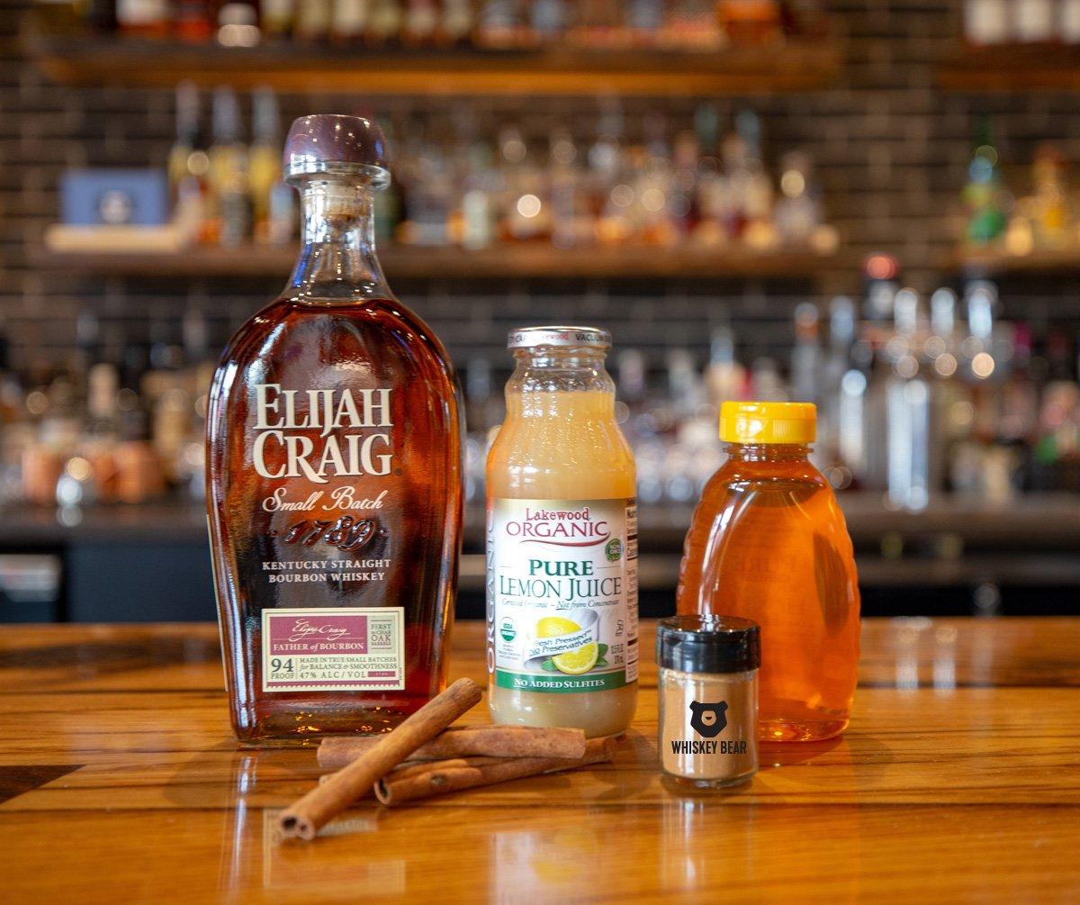 Whiskey Bear Cocktail Kit - Hot Toddy