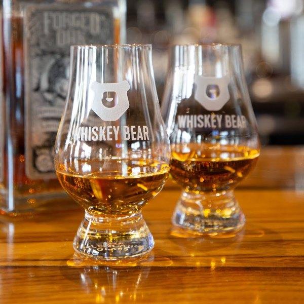 Whiskey Bear - Glencairn Whiskey Glasses