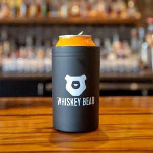 Whiskey Bear Tumbler 11 oz – Black