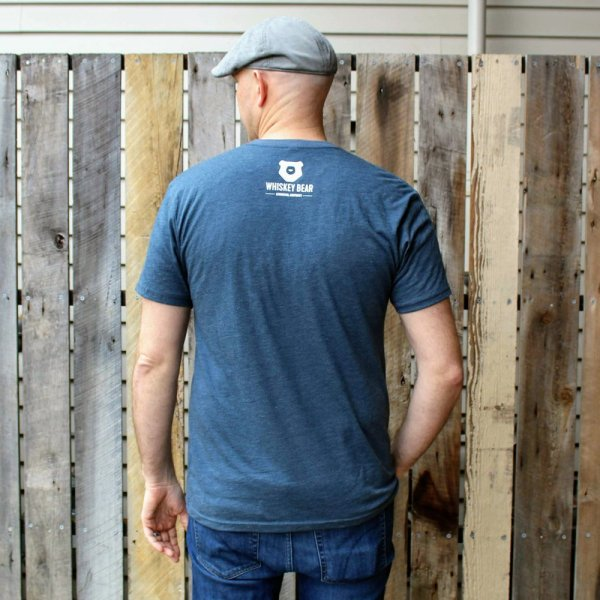 Whiskey Bear - Apparel - Mens - Tri-blend Tee - Limited Edition