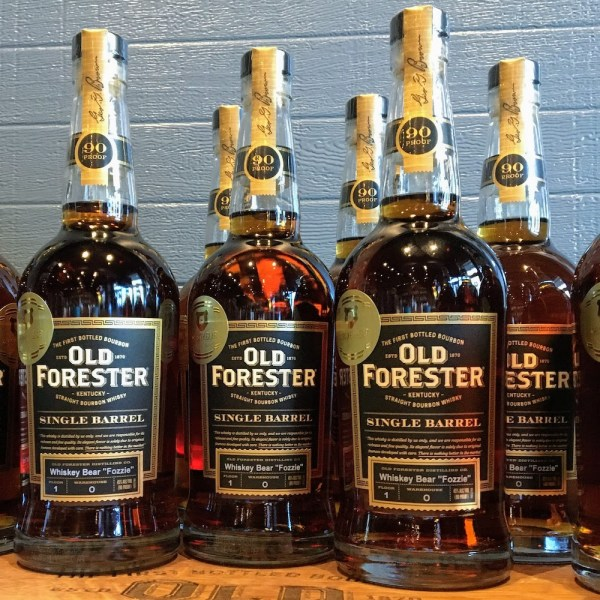 Whiskey Bear - Barrel Select - Old Forester - Fozzie