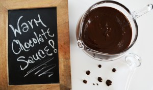 Warm Chocolate Sauce