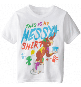 Boys' This Is My Messy Shirt Boys Tee
