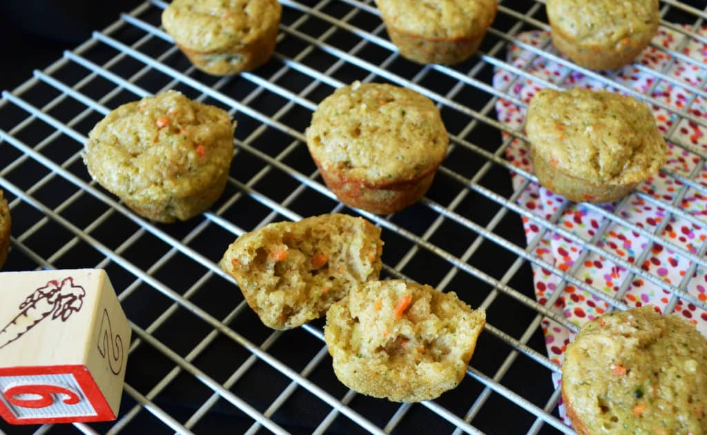 Fruit and Veggie Kids Mini Muffins