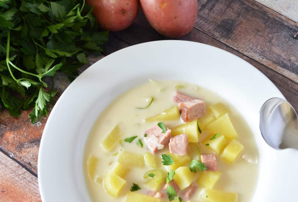 Delicious Ham and Potato Soup